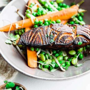 brown sugar salmon recipe with soy and bourbon