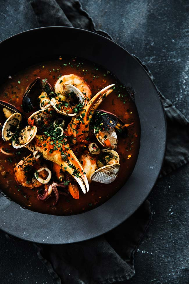 Cioppino Recipe Chef Billy Parisi