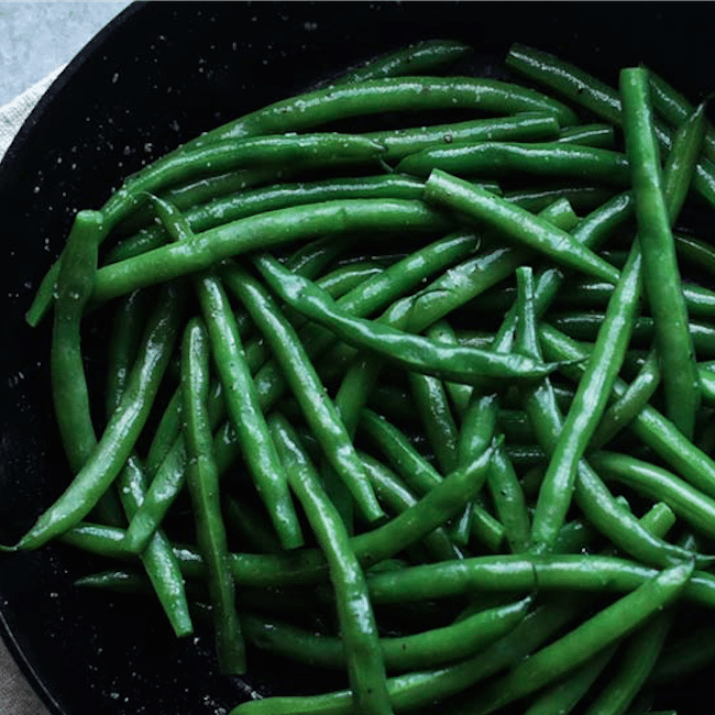 Boiled Green Beans Recipe With Butter Glaze Billy Parisi