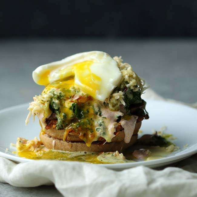 Ultimate Eggs Benedict Recipe with Whole Wheat English Muffin