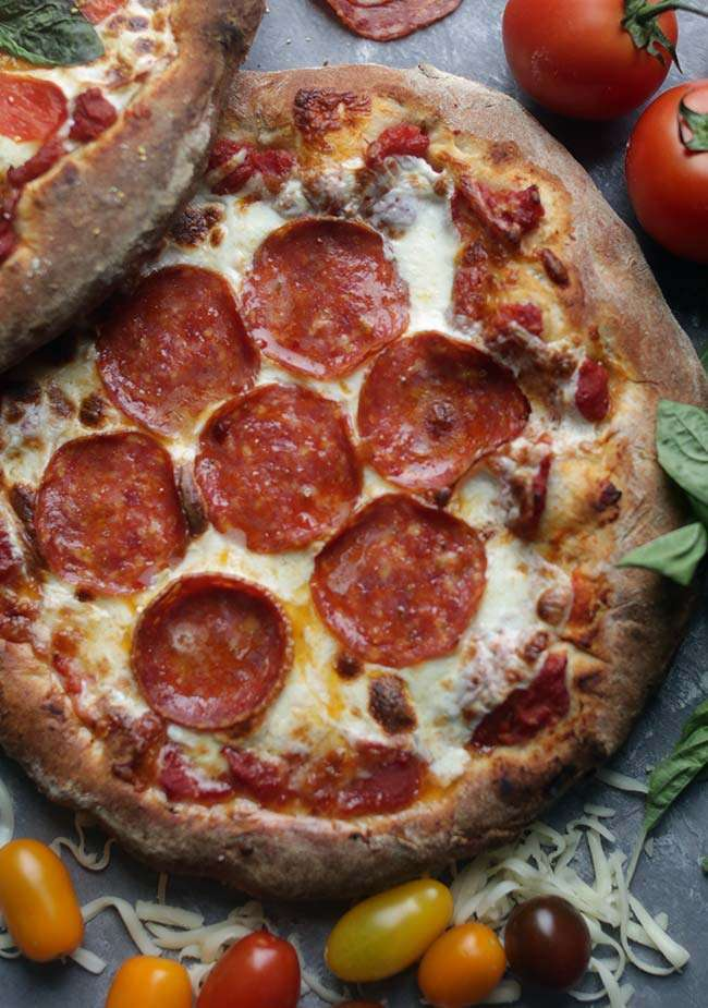 "a look at different recipes for making pizza ""i tell people when making pizza at home,  five different types of 00 flour  look for the 5 stagioni 00 brand,."