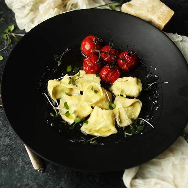 Homemade Lobster Tortellini Recipe with Brown Butter