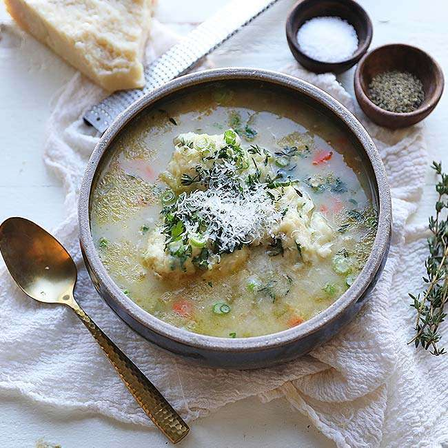 Creamy Chicken and Dumpling Soup Recipe