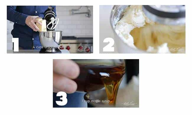 step by step procedures for making a cream cheese frosting