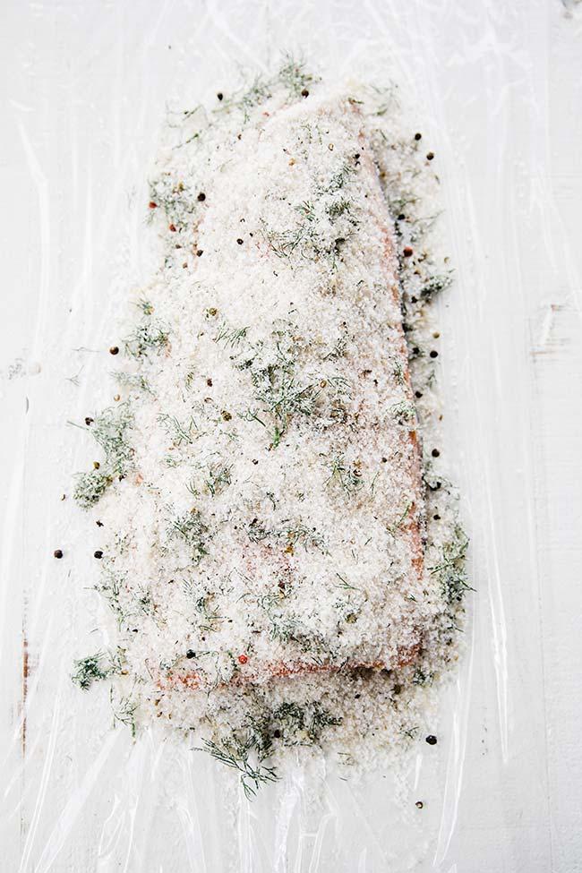 salt cured gravlax recipe