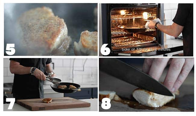 step by step procedures on how to bake chicken breasts