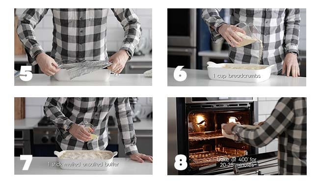 step by step procedures for baking a potatoes au gratin